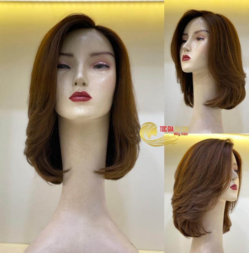 Tóc giả nữ nguyên đầu được nhiều chị em yêu thích.