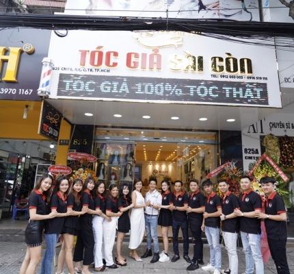 Tóc giả Sài Gòn là thương hiệu được nhiều người lựa chọn.