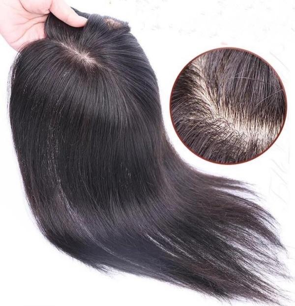 Chất liệu làm tóc giả nguyên đầu