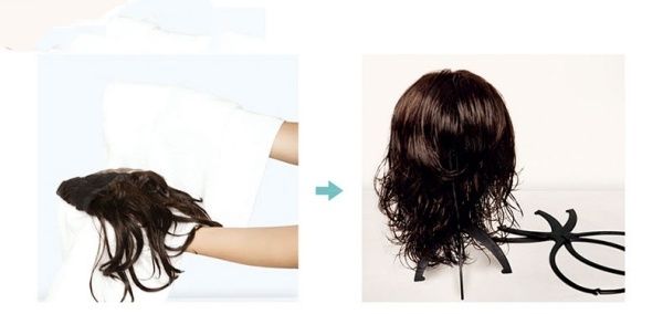Bảo quản tóc giả nguyên đầu