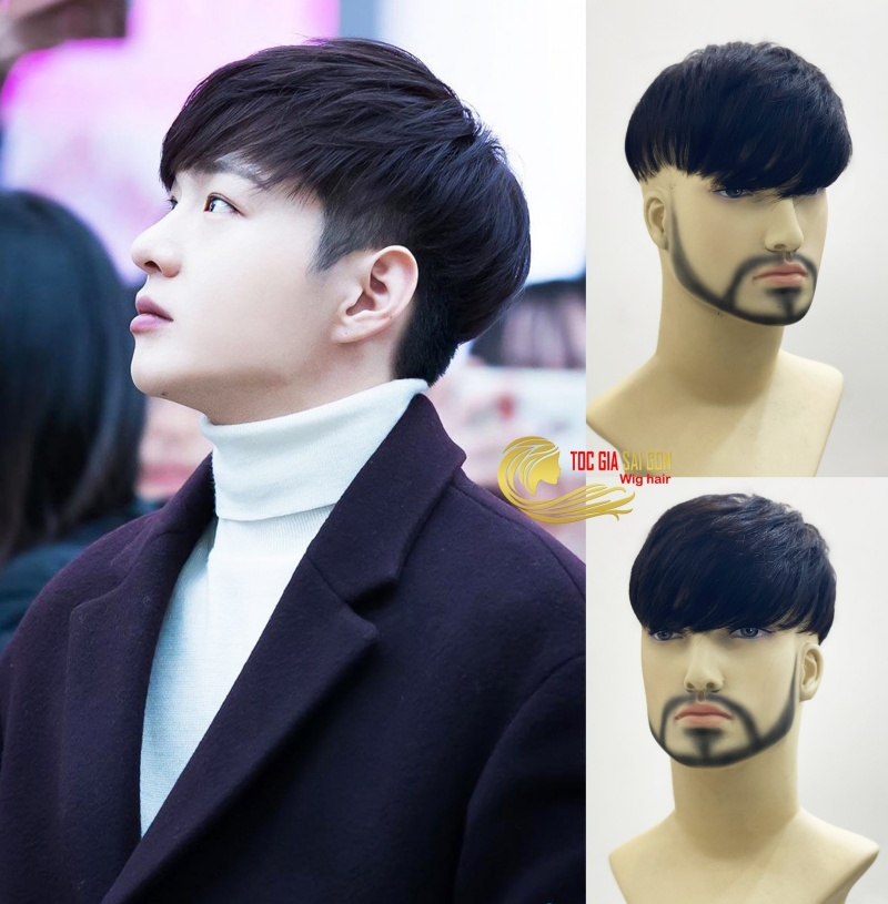 Làm đẹp bằng tóc giả đang trở thành xu hướng.
