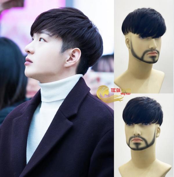 Tóc giả nam Hàn Quốc